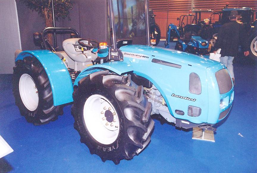 Landini 4x4 articulated tractor