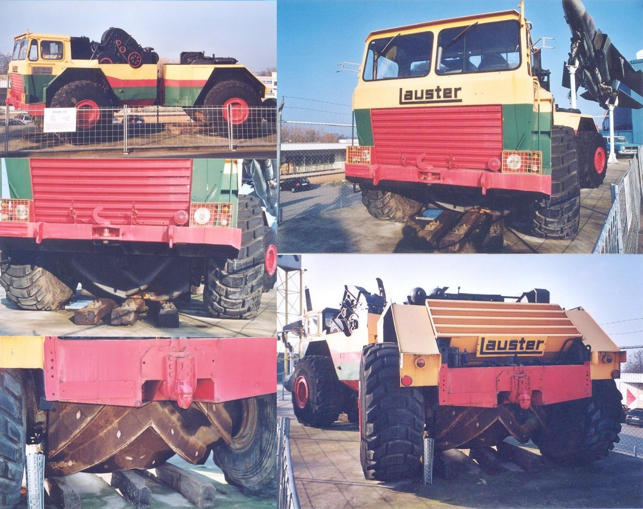 Lauster 4x4 articulated