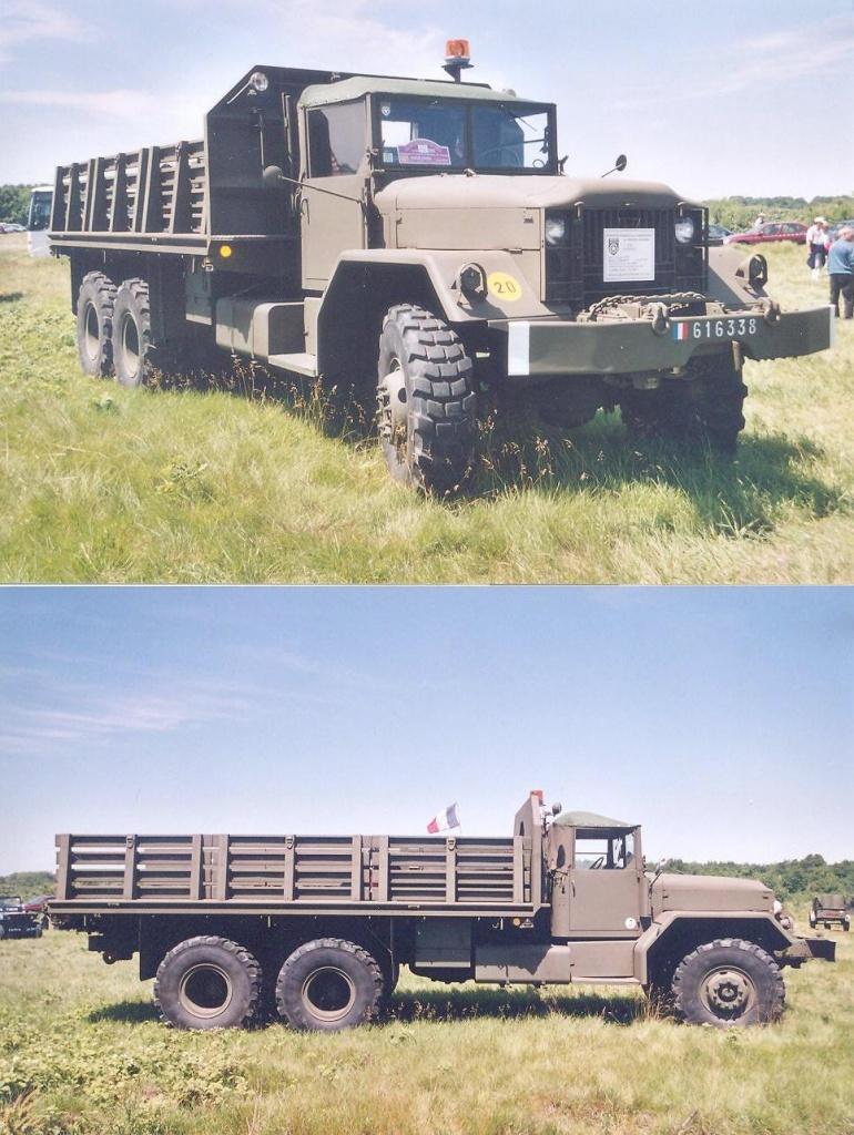 M-813 Truck, Cargo, 5 ton, 6x6 LWB, AM General