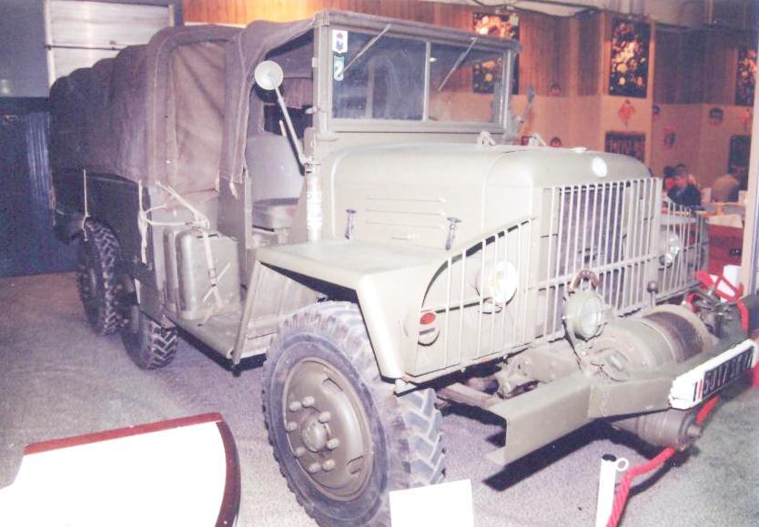 Marmont-Bocquet  FF6 6x6, 1958