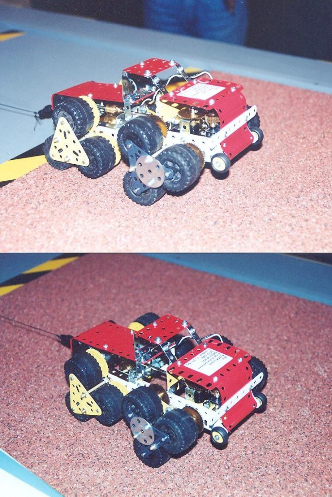 Meccano Terrastar at a Toys Show in Paris, 1998