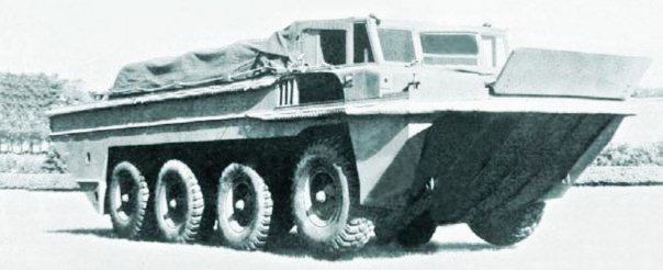 Morris Commercial Terrapin Mk 1,  8x8, Amphibious,  1943