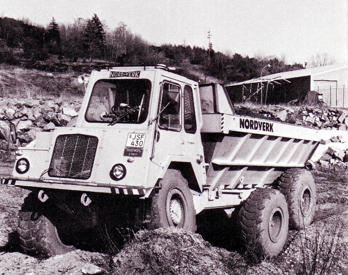 Nordwerk TT 140 B Dumper, 1969.