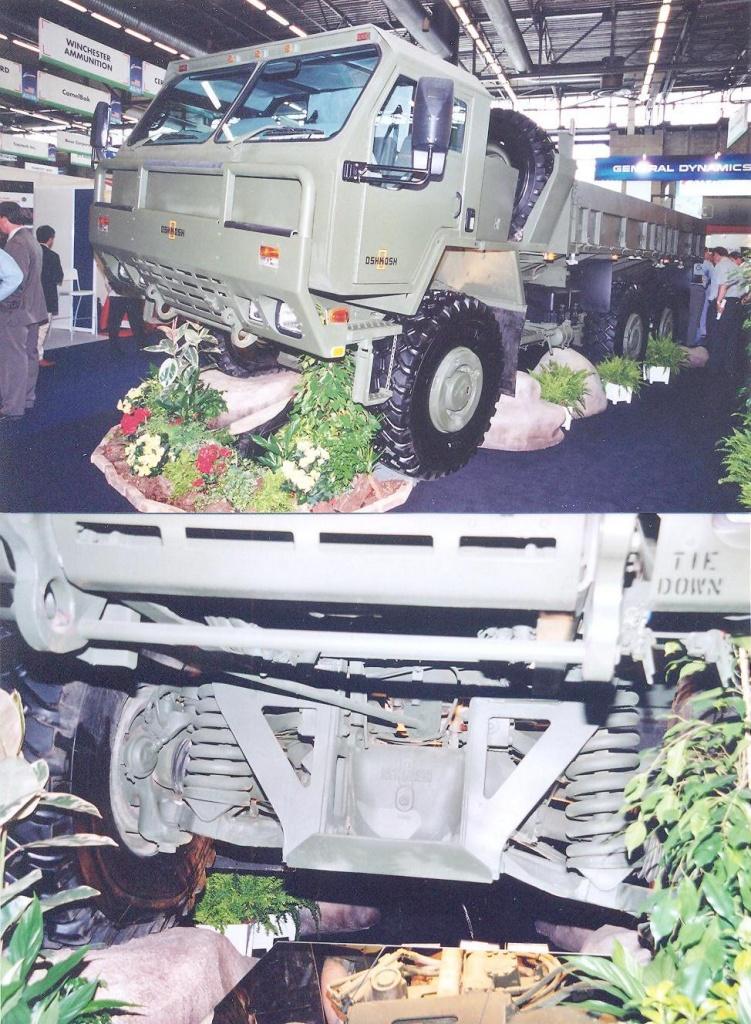 Oshkosh 6x6 truck