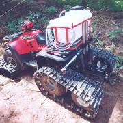 Polaris tracked quad