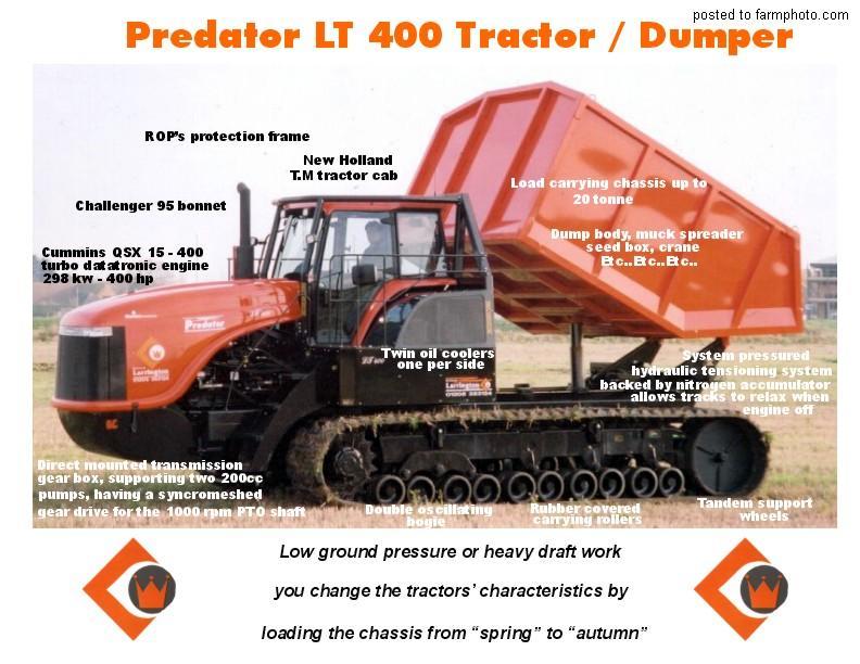 Predator LT 400 Dumper