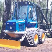 Rottne 8x8 forwarder