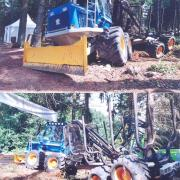 Rottne 8x8 Forwarder 3