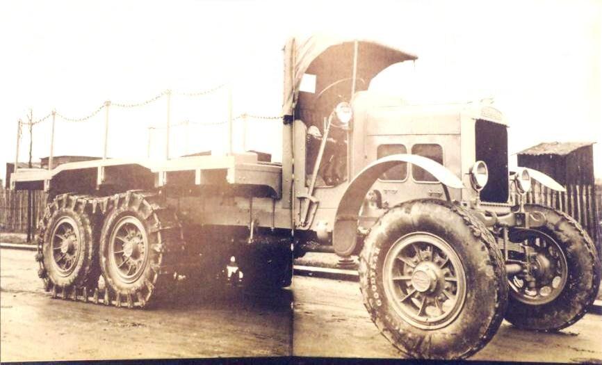 Scammell 6x6 truck