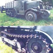 Somua MCG 5 Semi-Tracked Truck