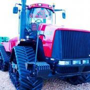 Steiger STX 530 with additional tracks
