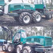 Sylvatec 8x8 harvester