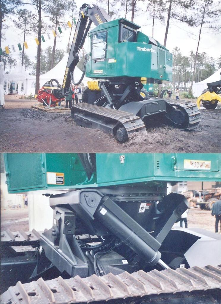 Timberjack Excavator 1
