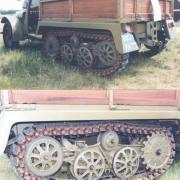 Unic TU 1 Semi-Tracked Tractor  3