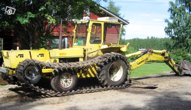 Vammas VM 84 on Ford 6610