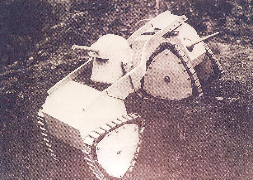 Varlet Tank, Delaye, 1937