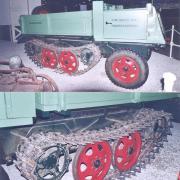 Waldschlepper Type Deutz 1500