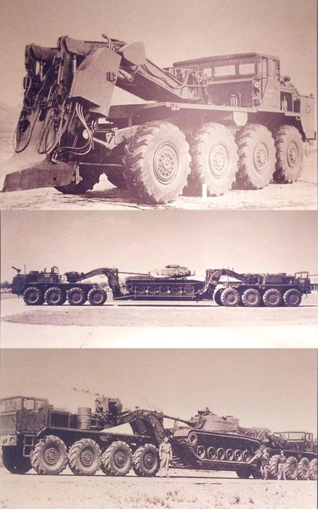 XM376 and XM377, 1957