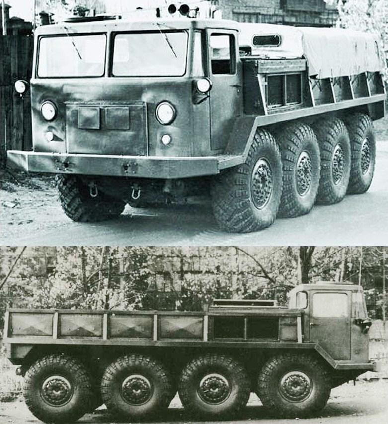 ZIL 134, 8x8, 1957