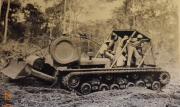 Letourneau Tank Dozer, 1960