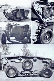 Matisa Universal Tracked-and-Wheeled Vehicle, 1965