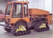 Mattracks Tracks on Holder-tractor