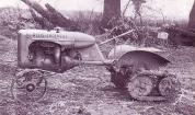 Orchard Allis-Chalmers-model-B-on-experimental-roadless-tracks,1946