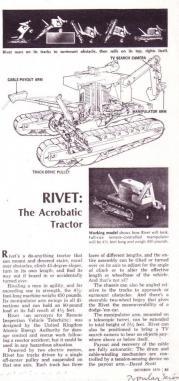 Rivet tractor, 1970