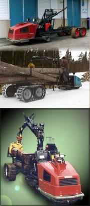 Skogis Forestry Forwarder