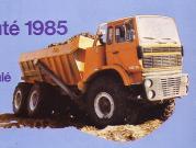Titan Articulated Dumper-6x6, 1985