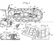 US001219637-001 Traction Vehicle-with Bendable Tracks, 1917