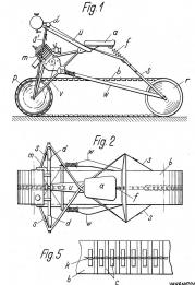 US002061290-001 Bendable Track-on Motorbik, 1936