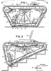 US003068950-001 Ajustable-motor-driven-invalid-chair-with-endless-tracks, 1962