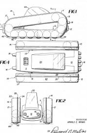 US003695736-002 Endless Track Vehicle, 1972
